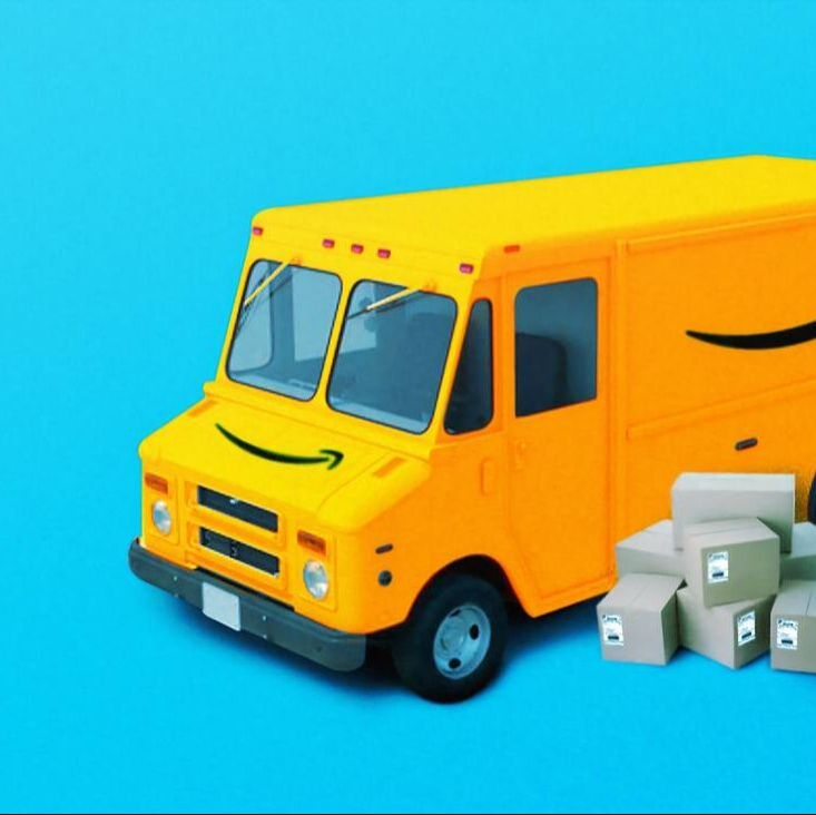 Amazon Seller Van