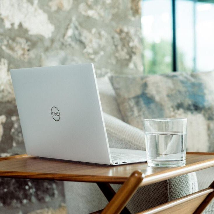 DELL Laptop on the table